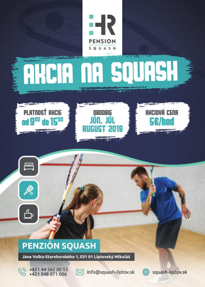 Jarná akcia na Squash